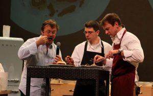 Bernard Gisquet en joute sur les Gastronomades