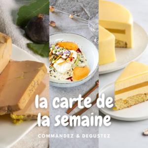 Menu semaine 11 de mars 2021 pour le restaurant Lou Cantoun de Bernard Gisquet