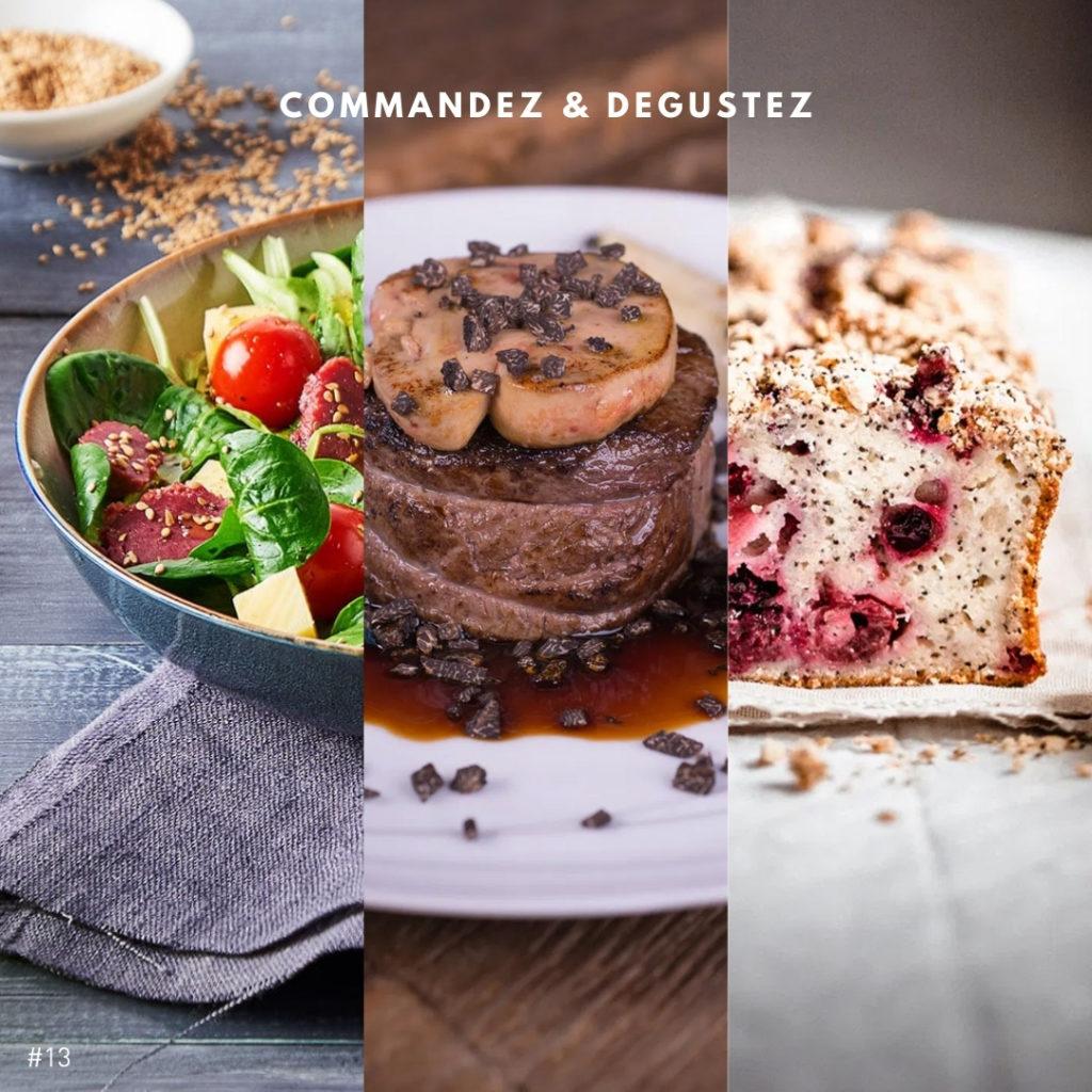 Menu de Pâques restaurant Bernard Gisquet mars 2021