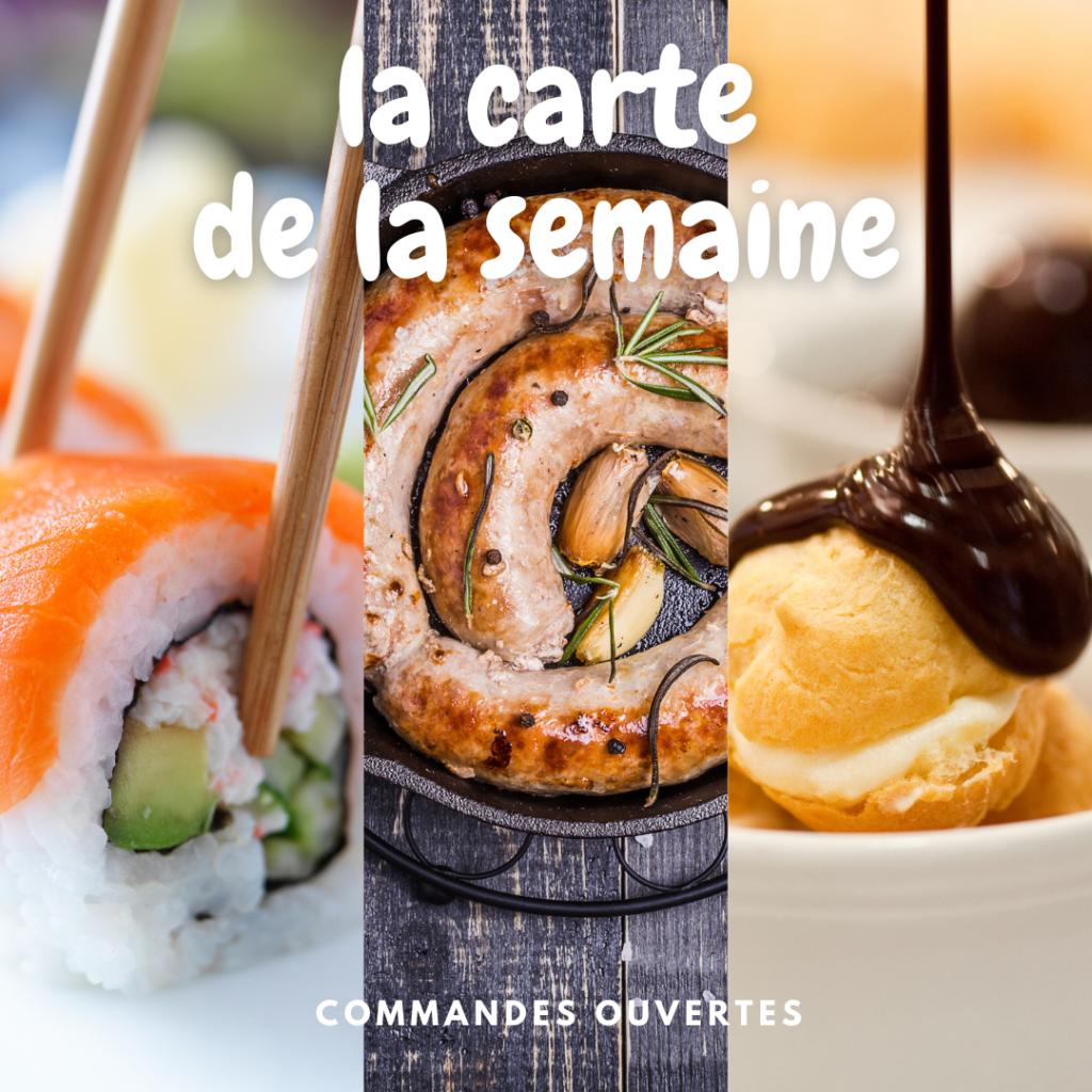 La nouvelle carte du restaurant Lou Cantoun de Bernard Gisquet pour la semaine 17 de 2021