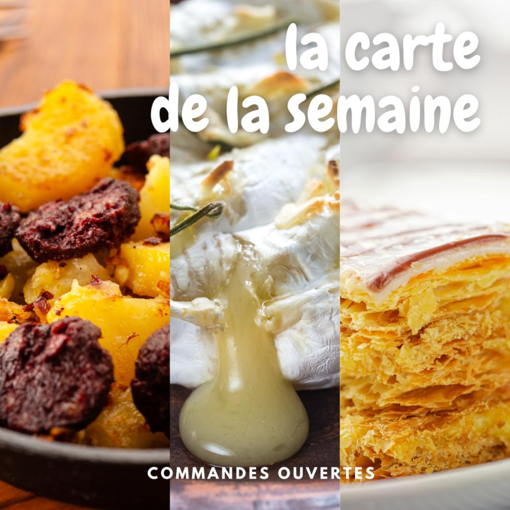 Bernard Gisquet carte semaine 18 restaurant Tarn 2021