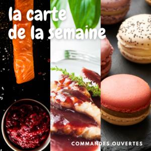 Le menu de cette semaine 21 de 2021 au restaurant Lou Cantoun de Cestayrols