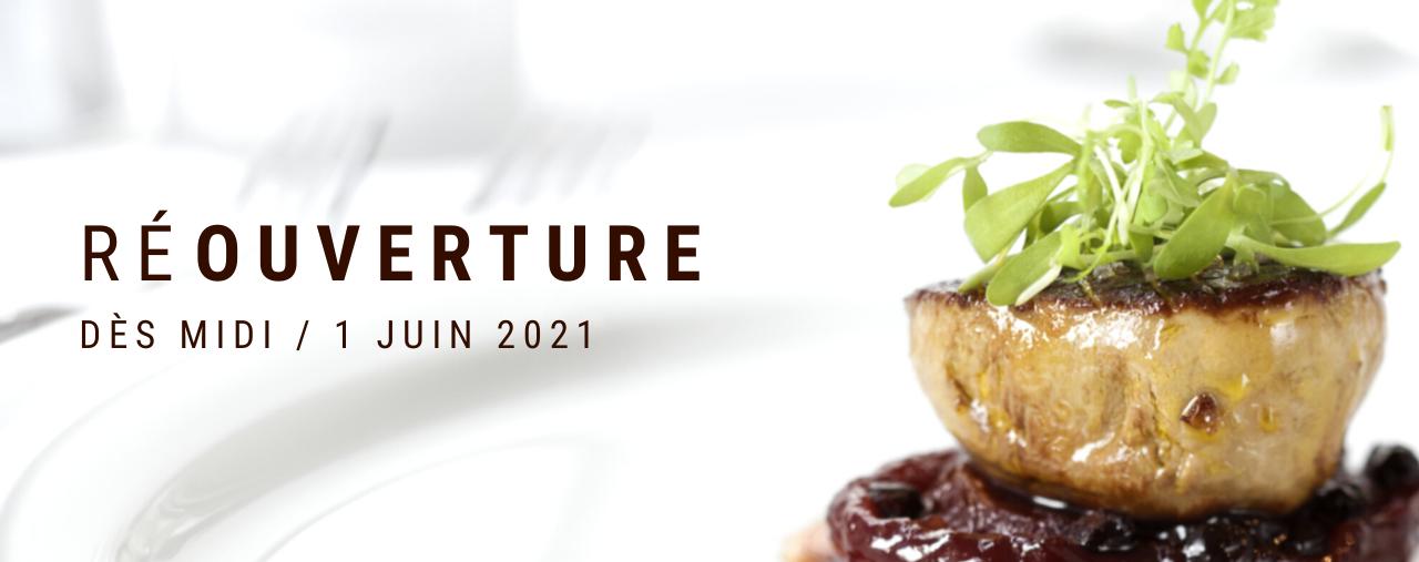 Réouverture du restaurant Lou Cantoun de Bernard Gisquet pour le 1 juin 2021