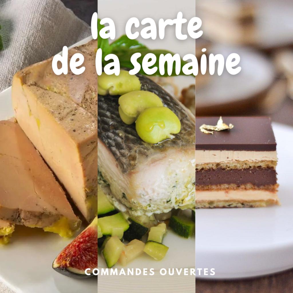 Lou Cantoun restaurant de Bernard Gisquet carte des plats de la semaine 18 à Cestayrols dans le Tarn