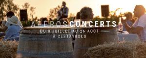 Apéros Concert du jeudi soir chez Lou Cantoun de Bernard Gisquet dans le Tarn