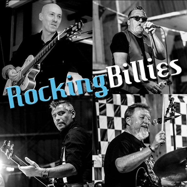 Rocking BIllies grope de rock n roll